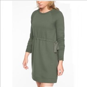 Studio Cinch Sweatshirt Dress